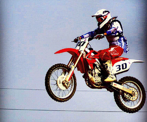 Honda, motocross, and 30 image