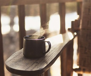 coffee, tea, and morning image
