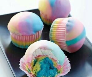 colors, food, and cupcake image