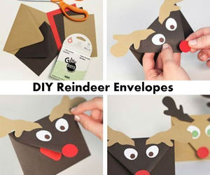 christmas, diy, and envelopes image