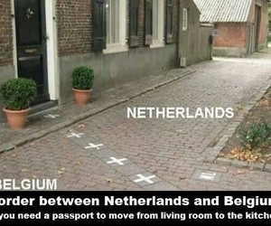 border, travel, and funny image