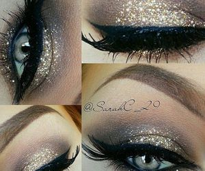 beauty, make up, and eyeliner image