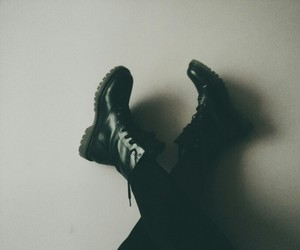 grunge, boots, and fashion image