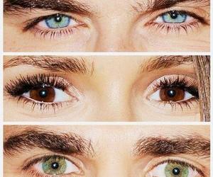 eyes, ian somerhalder, and Nina Dobrev image