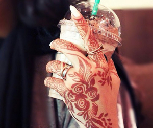 henna and starbucks image