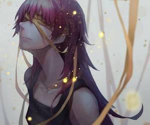 anime, anime boy, and mirai nikki image