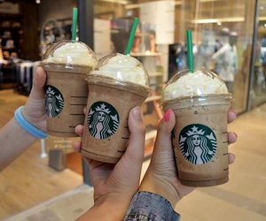 starbucks, tumblr, and frappe image