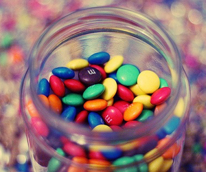 candy, m&m, and food image