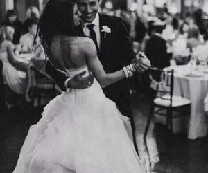 bride, dance, and groom image