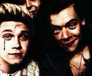 Halloween, narry, and niall horan image