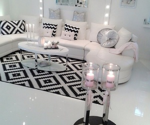 room, candle, and decoration image