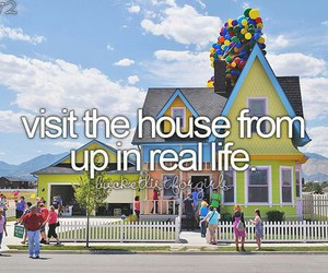 up, house, and movie image