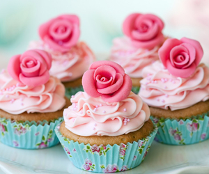 <3, cupcakes, and sweet image