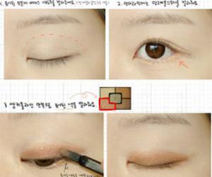 makeup, tutorial, and asian image