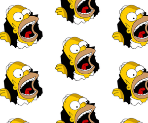 background, homer, and simpson image