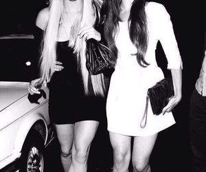 lana del rey, Taylor Momsen, and black and white image