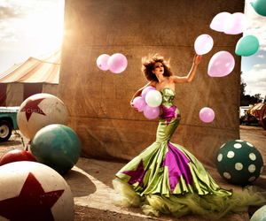 fashion, photography, and balloons image