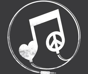 music and peace image