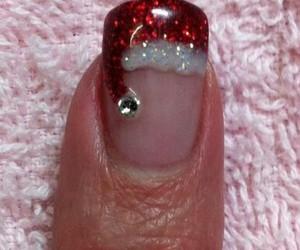 red and christmas image