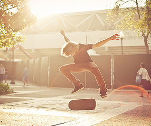guy, photography, and skate image