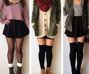 boots, fabulous, and cardigan image