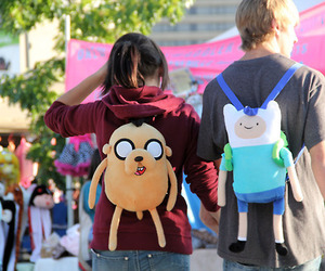 backpack, JAKe, and couple image