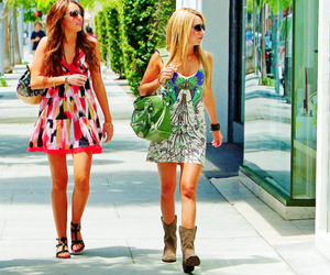 miley cyrus and ashley tisdale image