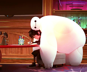cute, hiro, and baymax image