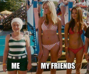 friends, me, and funny image