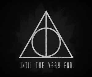 harry potter, end, and deathly hallows image