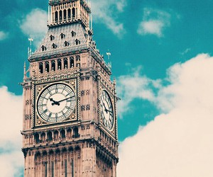 Big Ben, london, and sky image