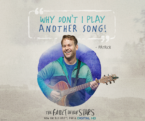 the fault in our stars, patrick, and quotes image