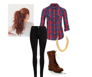autumn, girl, and Polyvore image