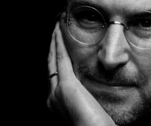 profile and Steve Jobs image