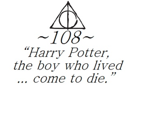 harry potter, lord voldemort, and quote image