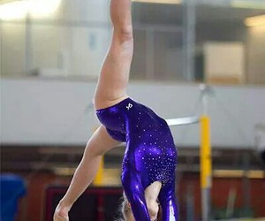 beam, competition, and gymnastics image