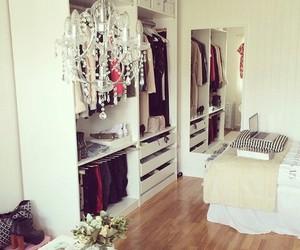 closet, room, and beautiful image
