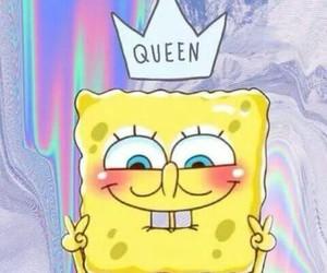 Queen, wallpaper, and spongebob image