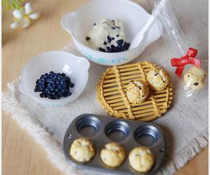 blueberry, muffins, and mini image