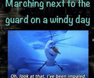 band, frozen, and marching band image