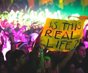 life, quote, and rave image