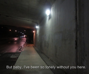 grunge, lonely, and quote image