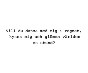 quote, swedish, and love image