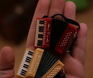 accordion, miniature, and music image