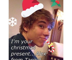 alex, target, and christmas image