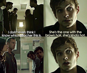 funny, teen wolf, and isaac lahey image