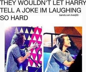 one direction, Harry Styles, and joke image