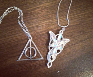 aragorn, deathly hallows, and harrypotter image