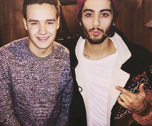 liam payne, zayn malik, and one direction image