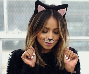 blogger, Halloween, and cat costume image